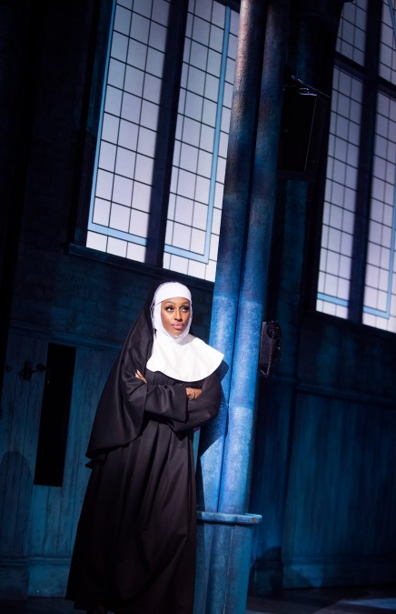 SISTER ACT. Alexandra Burke as 'Deloris Van Cartier'. Photo by Tristram Kenton (2)