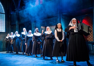 SISTER ACT. Company. Photo by Tristram Kenton