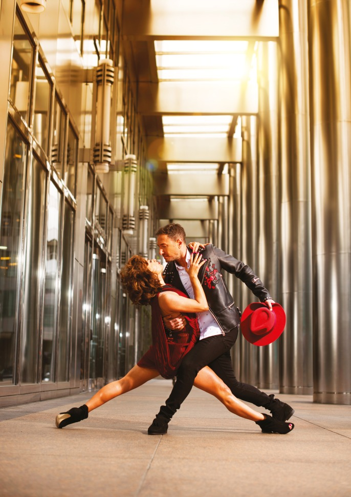 Vincent Simone & Flavia Cacace star in Tango Moderno Photo by Hugo Glendinning (red dress portrait).jpg
