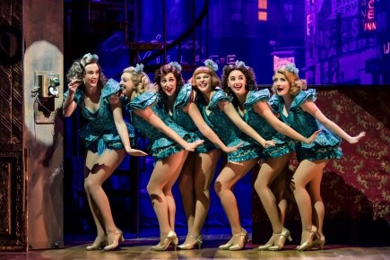4. CRAZY FOR YOU. Company. Photo Richard Davenport