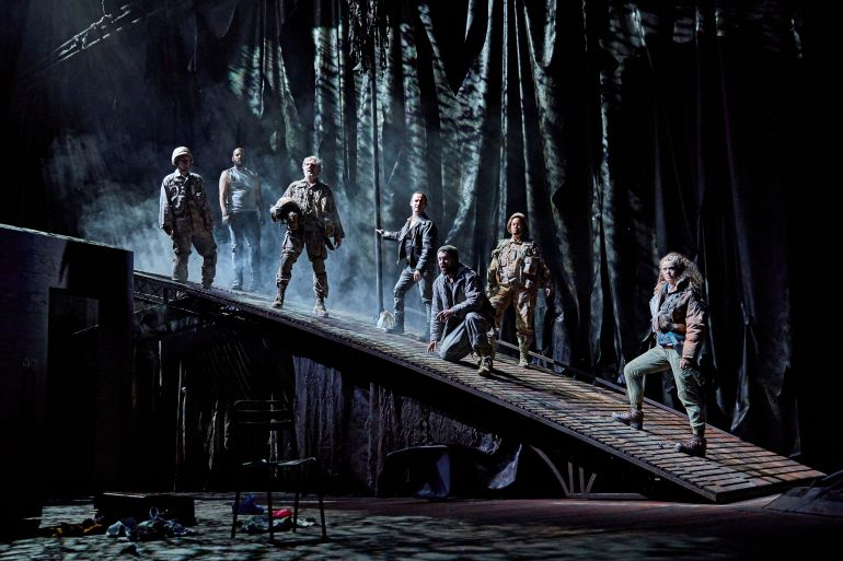 Macbeth - NT - The cast of the UK and Ireland tour of Macbeth - Credit BrinkhoffMogenburg - (2)