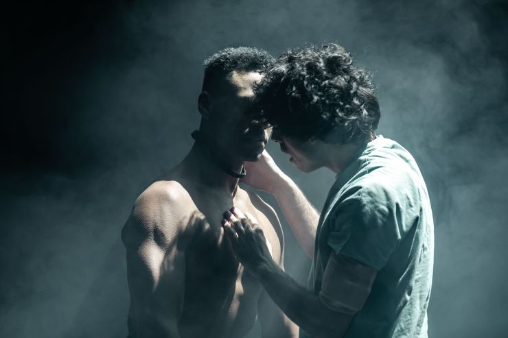 EQUUS - Ira Mandela Siobhan as Nugget and Ethan Kai as Alan Strang - Credit The Other Richard.jpg
