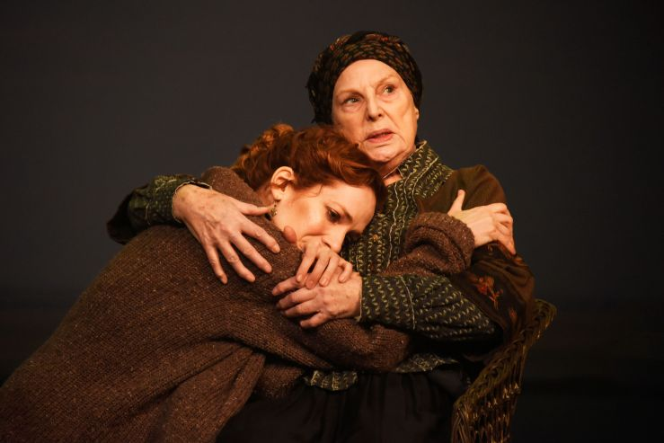 Uncle Vanya - Katherine Parkinson as Sonya and Ann Mitchell as Marina - Credit Nobby Clark