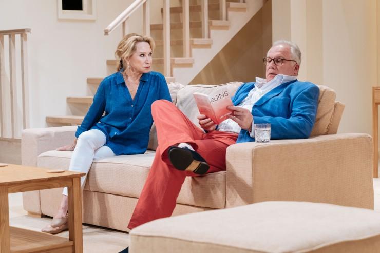 The Argument - Felicity Kendal as Chloë and Rupert Vansittart as Frank - Photo credit Manuel Harlan
