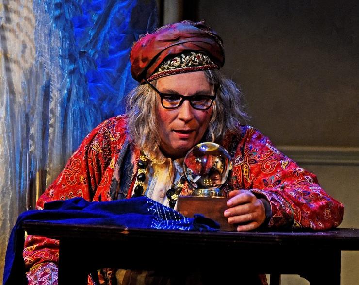 Blithe Spirit - Jennifer Saunders as Madame Arcati in Blithe Spirit - Photo credit Nobby Clark ®