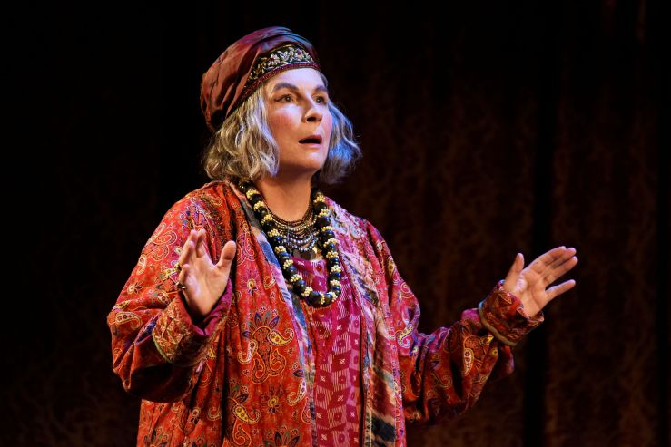 Blithe Spirit - Jennifer Saunders as Madame Arcati - Photo credit Nobby Clark ®